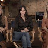 Jennifer Aniston, Courteney Cox y Lisa Kudrow, en el reencuentro de 'Friends'