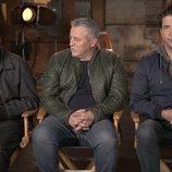 Matthew Perry, Matt LeBlanc y David Schwimmer, en el reencuentro de 'Friends'