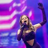 Stefania, representante de Grecia, en la Semifinal 2 de Eurovisión 2021