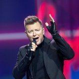 Rafal, representante de Polonia, en la Semifinal 2 de Eurovisión 2021