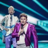 Fyr Og Flamme, representantes de Dinamarca, en la Semifinal 2 de Eurovisión 2021