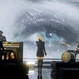 Hooverphonic, representantes de Bélgica, en la final de Eurovisión 2021