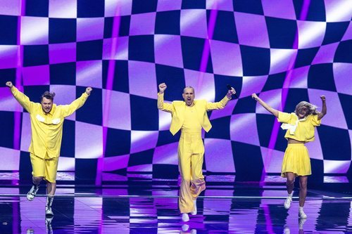 The Roop, representante de Lituania, en la final de Eurovisión 2021