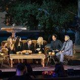 Los protagonistas de 'Friends' en el sofá de 'Friends: The Reunion'