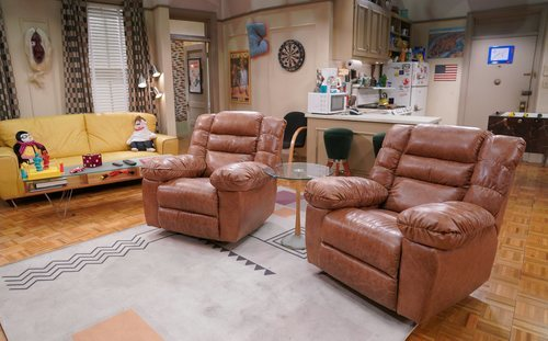 Las butacas de Chandler y Joey en 'Friends: The Reunion'