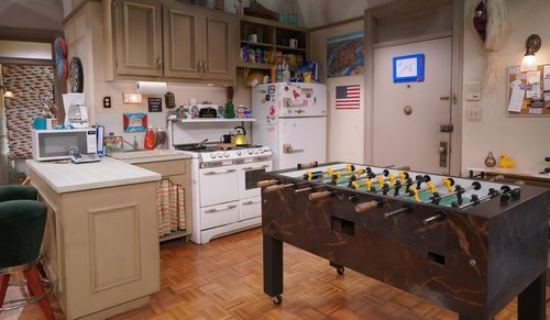 La cocina de Chandler y Joey en 'Friends: The Reunion'