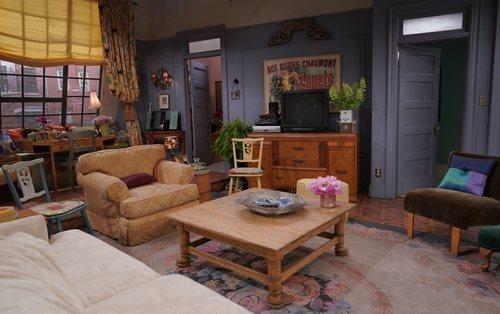 Salón del apartamento de Monica y Rachel en 'Friends: The Reunion'