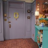 La famosa mirilla del piso de Monica en 'Friends: The Reunion'