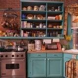 La cocina de Monica y Rachel, decorado de 'Friends: The Reunion'