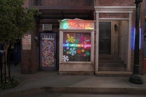 Escaparate cerca de Central Perk en 'Friends: The Reunion'