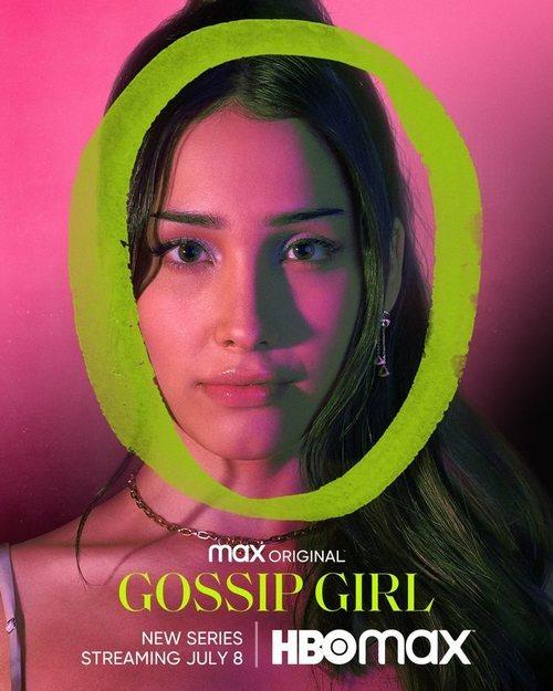 Zión Moreno en el cartel del reboot de 'Gossip Girl'