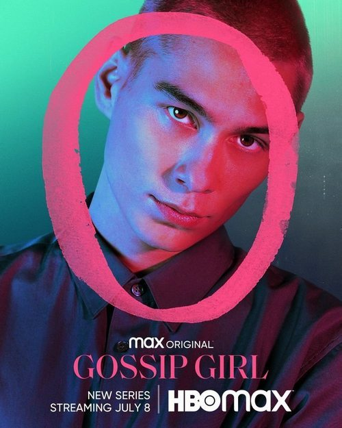Evan Mock en el cartel del reboot de 'Gossip Girl'