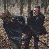Jeffrey Dean Morgan en la undécima y última temporada de 'The Walking Dead'
