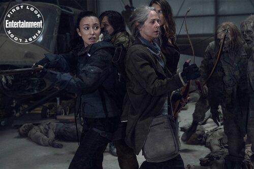 Rosita, Lydia, Carol, y Maggie en las primeras imágenes de la undécima temporada de 'The Walking Dead'