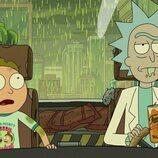 Morty y Rick en la quinta temporada de 'Rick y Morty'