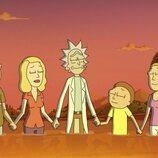 La familia se relaja en la quinta temporada de 'Rick y Morty'