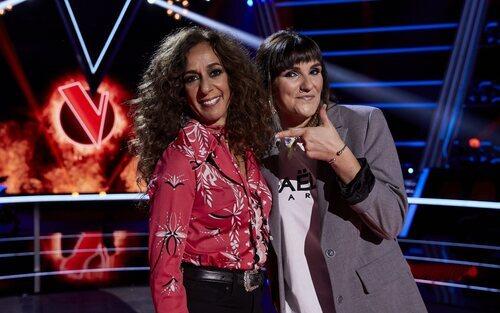 Rozalén y Rosario en la sexta edición de 'La Voz Kids'