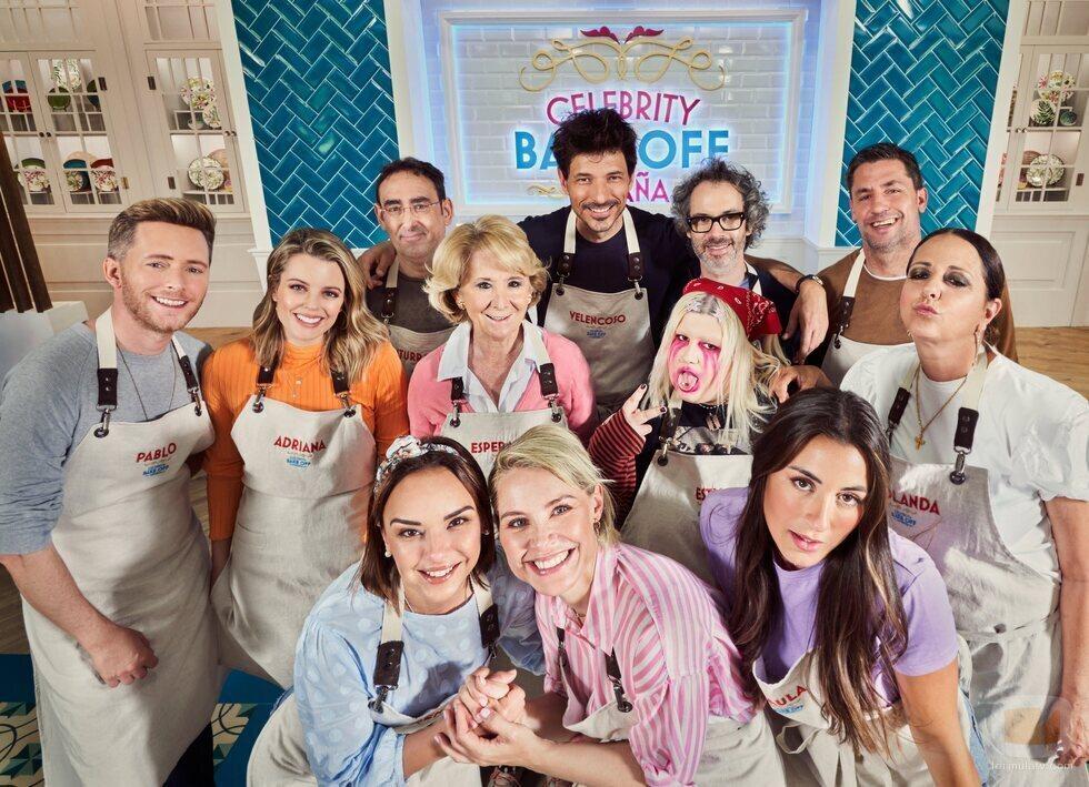 Todos los concursantes de 'Celebrity Bake Off España'