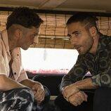 Christian y Moisés en la segunda temporada de 'Sky Rojo'