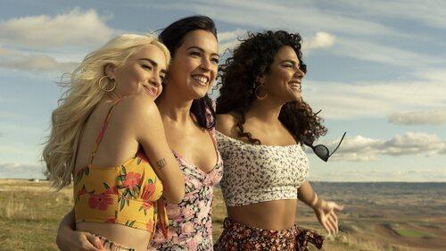 Wendy, Coral y Gina en la segunda temporada de 'Sky Rojo'