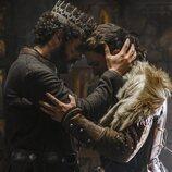 Francisco Ortiz y Jaime Lorente en la segunda temporada de 'El Cid'