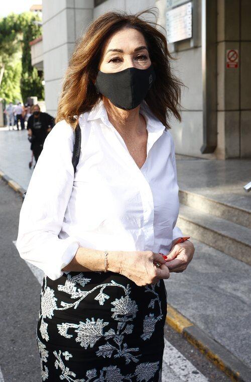 Ana Rosa Quintana, en el tanatorio por la muerte de Mila Ximénez