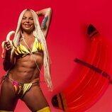 "Leticia Sabater presenta en bikini su tema ""La Bananakiki"""