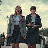 Aimee y Maeve, en la tercera temporada de 'Sex Education'