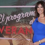 Patricia Pardo posa en el plató de 'El programa del verano' de 2021
