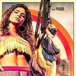 Yany Prado en el póster promocional para 'Sky Rojo2'