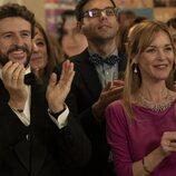 Diego Martín y María Esteve en 'Supernormal', de Movistar+