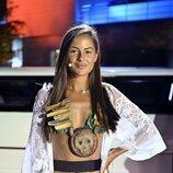 Melyssa Pinto en la gran final de 'Supervivientes 2021'