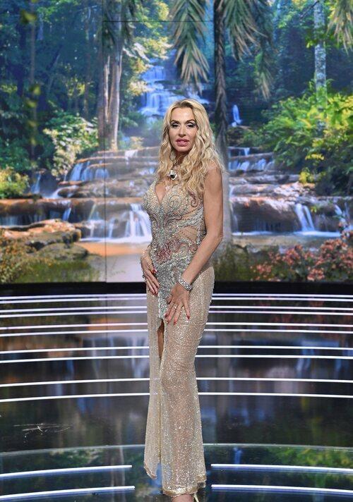 Valeria Marini en la final de 'Supervivientes 2021'
