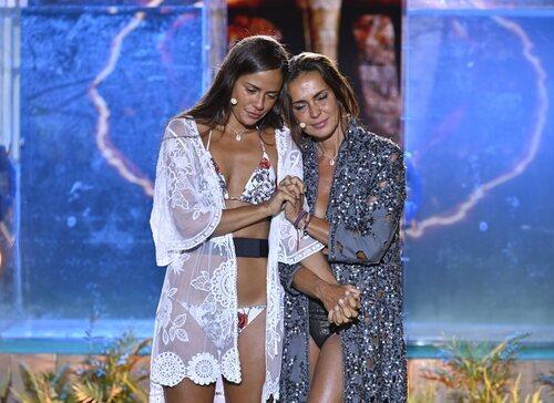 Melyssa Pinto y Olga Moreno en la final de 'Supervivientes 2021'
