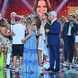 Olga Moreno celebra la victoria de 'Supervivientes 2021'