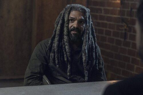 Khary Payton en la temporada 11 de 'The Walking Dead'