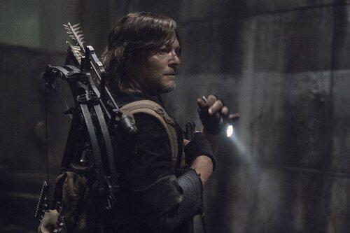Norman Reedus en la temporada 11 de 'The Walking Dead'