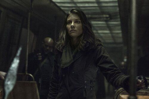Lauren Cohan en la temporada 11 de 'The Walking Dead'