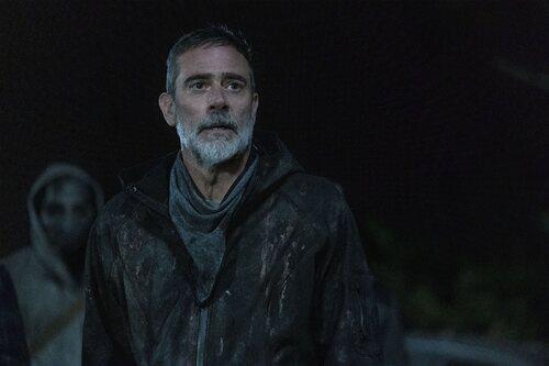 Jeffrey Dean Morgan en la temporada 11 de 'The Walking Dead'