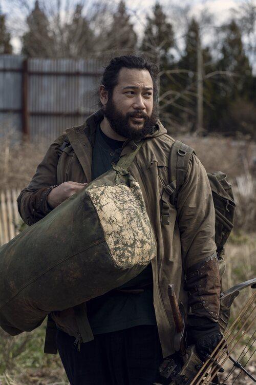 Cooper Andrews en la temporada 11 de 'The Walking Dead'