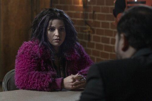 Paola Lázaro en la temporada 11 de 'The Walking Dead'