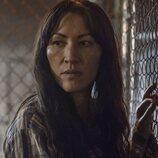 Eleanor Matsuura en la temporada 11 de 'The Walking Dead'