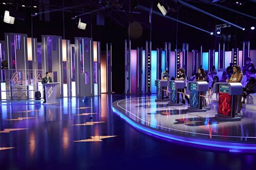 Así es el plató de 'Alta tensión' en Telecinco