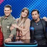 El equipo de 'OT 1' en 'Family Feud: La batalla de los famosos'