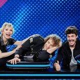 El equipo de Eurovisión en 'Family Feud: La batalla de los famosos'