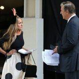 Sarah Jessica Parker y Chris Noth en una secuencia de 'And Just Like That...'