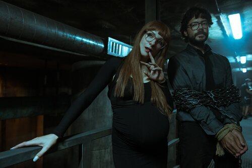 Sierra y El Profesor en la quinta parte de 'La Casa de Papel'