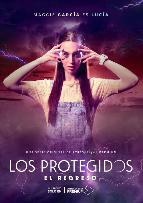Póster de Lucía (Maggie García), en 'Los protegidos: El regreso'