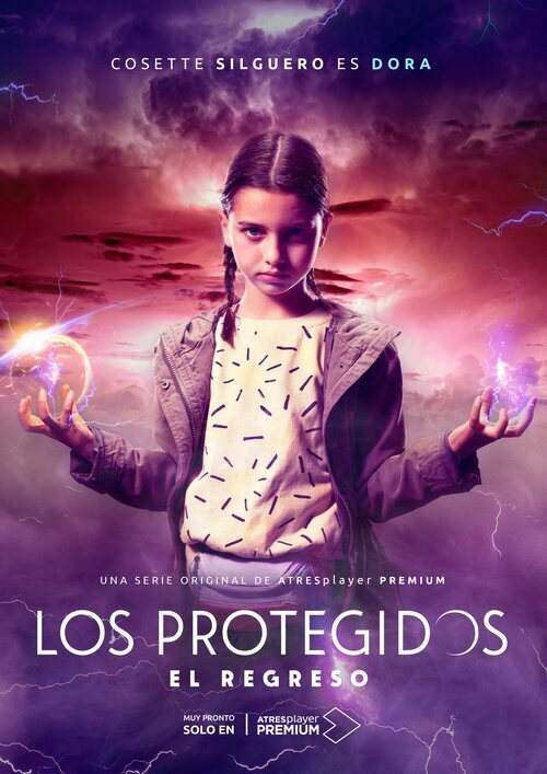 Póster de Dora (Cosette Silguero), en 'Los protegidos: El regreso'