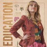 Póster de Aimee en la tercera temporada de 'Sex Education'